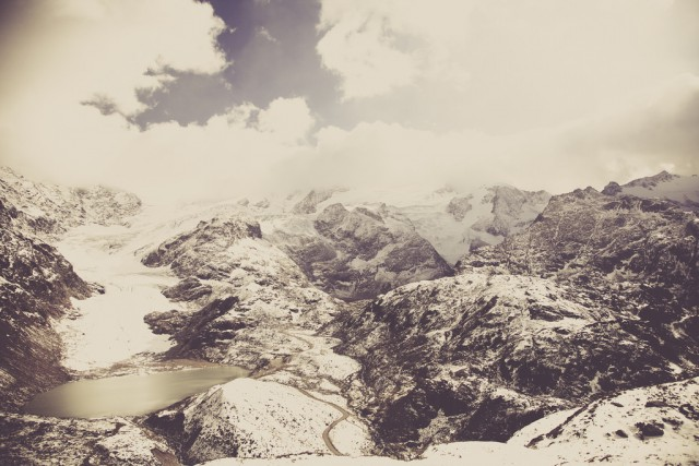 Sustenpass Glacial Lake