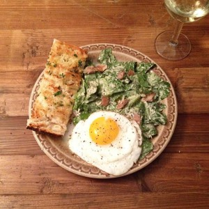 Meal 19: Caesar salad.